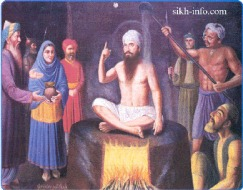 Guru Arjan Dev's subject to torture by the Mughals_2
