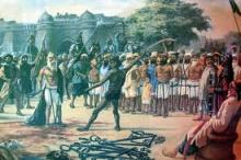 The execution of Banda's followers