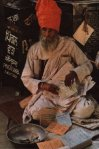 Bhagat Puran Singh collecting donations